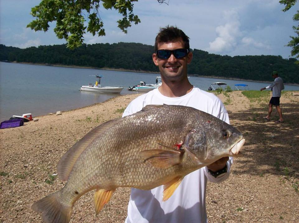 This Drum was .5lbs off the World Record that was speared the day before